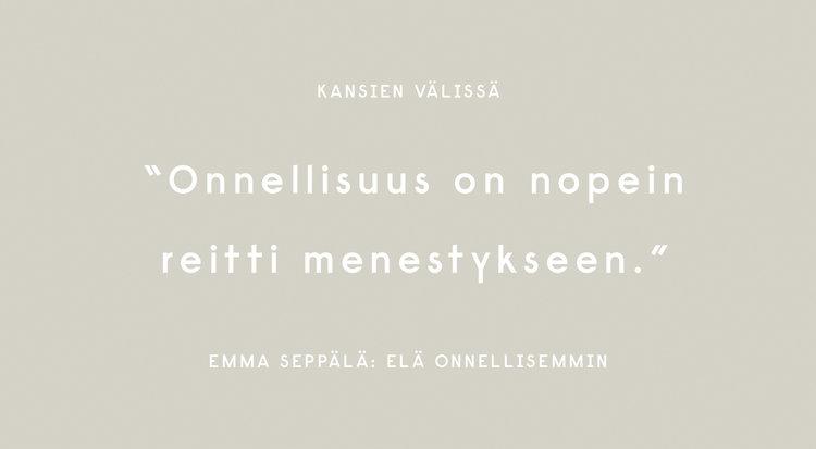 Emma Seppälä: Elä onnellisemmin