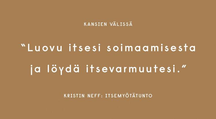 Kristin Neff: Itsemyötätunto