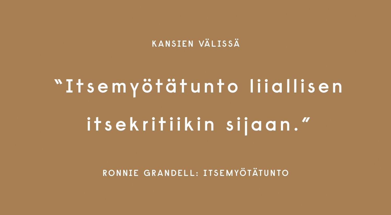 Ronnie Grandell: Itsemyötätunto